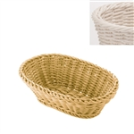 saleen white oval basket
