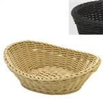 saleen black oval basket