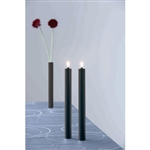 blindkilde black magnetic simplicity 3 in 1 candleholders/vases