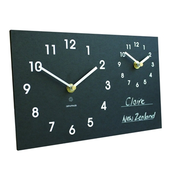 ashortwalk eco time zone clock