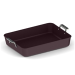 valira  aire ceramic roasting pan with 2 handles