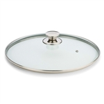 valira 24cm glass lid with knob