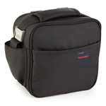 valira mobility black soft basic lunch bag with containers