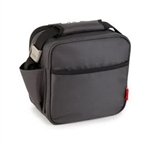 valira mobility grey soft basic lunch bag with containers