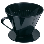 westmark black 4 cup coffee filter paper holder