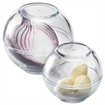 westmark 2 storage balls for garlic & onions