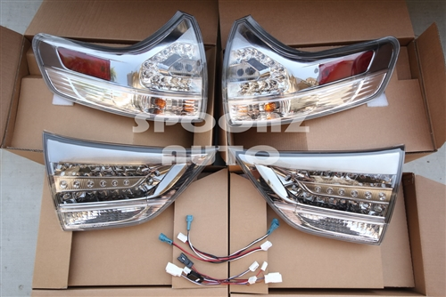 2017 2016 Toyota Sienna L Le Xle Limited Se Led Taillight Trd Conversion Kit