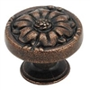 AMEROCK - NATURAL ELEGANCE ROUND SHELL KNOB - RUSTIC BRONZE