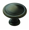 "AMEROCK - ALLISON KNOB - 1-1/4"" DIAMETER - RUBBED BRONZE"