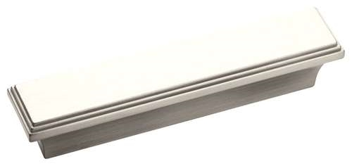 "AMEROCK - MANOR - PULL - 3"" C-TO-C - SATIN NICKEL"
