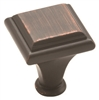 "AMEROCK - MANOR KNOB - 1"" DIAMETER - OIL RUBBED BRONZE"