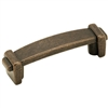 "AMEROCK - FORGINGS - PULL - ROPE ENDS - 3"" C-TO-C - RUSTIC BRONZE"
