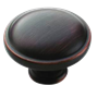 "AMEROCK - ALLISON KNOB - 1-1/4"" DIAMETER - OIL RUBBED BRONZE"