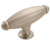 AMEROCK - OBLONG - KNOB - SATIN NICKEL