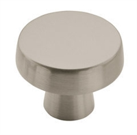 AMEROCK - BLACKROCK - KNOB - 1 5/8 DIAMETER - SATIN NICKEL