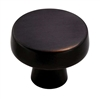 "AMEROCK - BLACKROCK - KNOB - 1 3/4"" DIAMETER - OIL RUBBED BRONZE"