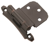 HINGE; SELF-CLOSING, FACE MOUNT, INSET 3/8""