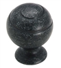 AMEROCK - SWIRL'Z - BALL KNOB - WROUGHT IRON DARK