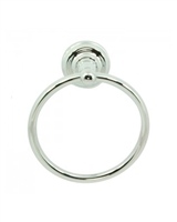 DOLORES PARK II TOWEL RING - CHROME
