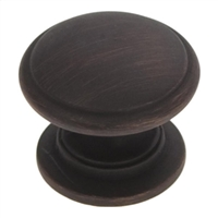"BELWITH - WILLIAMSBURG KNOB - 1 1/4"" - VB - VENETIAN BRONZE"