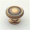 KNOB - POLISHED ANTIQUE