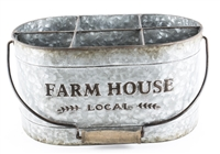 METAL FARM HOUSE BUCKET