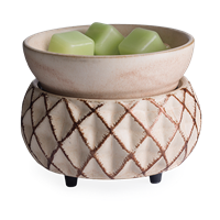 DECOR MARKET - CW CWDLAT - 2 IN 1 CLASSIC FRAGRANCE WARMER - LATTICE