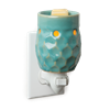 DECOR MARKET - CW PL10 - PLUGGABLE FRAGRANCE WARMER - TURQUOISE HONEYCOMB
