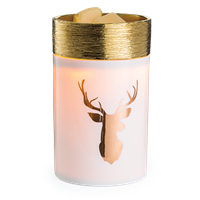 DECOR MARKET - CW RWGST - ILLUMINATION FRAGRANCE WARMER - GOLDEN STAG