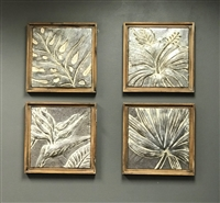 DECOR MARKET - FRAMED TROPICAL METAL TILES