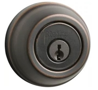 KWIKSET - SINGLE CYLINDER DEADBOLT - 11P - VENETIAN BRONZE