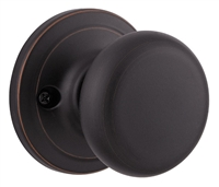 KWIKSET 788H-11PGC HANCOCK - SINGLE DUMMY DOOR KNOB - VENETIAN BRONZE FINISH
