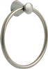LIBERTY HARDWARE - DELTA - LAHARA - TOWEL RING - SS - STAINLESS STEEL