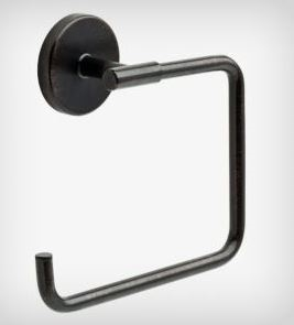LIBERTY HARDWARE - TRINSIC - TOWEL RING - RB - VENETIAN BRONZE