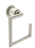 MOEN - ARRIS - TOWEL RING - BN - BRUSHED NICKEL