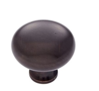 JVJ MAXWELL - MUSHROOM KNOB - OLD WORLD BRONZE