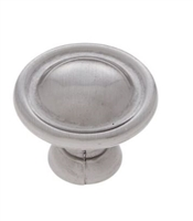 JVJ MAXWELL - SMALL DOME KNOB - SATIN NICKEL