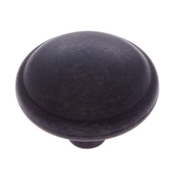 "JVJ MAXWELL - KNOB 1 3/8"" - OIL RUBBED BRONZE"