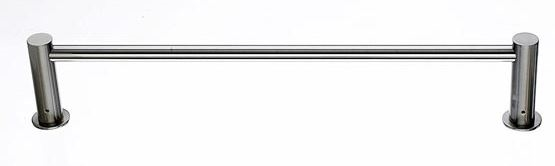 "TOP KNOBS - HOPEWELL - 24"" TOWEL BAR - BRUSHED SATIN NICKEL"