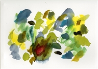 """Printemps Joyeux"" -- Original Tbliz Watercolor Painting"