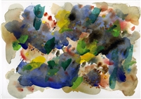 """New World"" - Open Edition Reproductions of Original Tbliz Watercolor Painting"