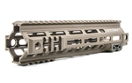 "Geissele Automatics, MK4, Super Modular Rail, 9.5"", MLOK, Desert Dirt Color, Barrel Nut Wrench Sold Separately (GEI-02-243), Gas Block Not Included"