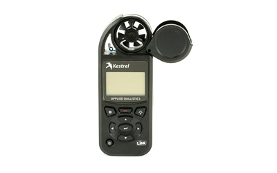 Kestrel, Elite, Weather Meter With Applied Ballistics, Link Wireless Connectivity, Black Finish