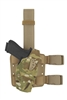 SAFARILAND 6354DO Holster GLOCK 34/35 Multicam holster (light on gun)