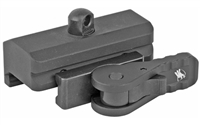American Defense Mfg., Mount, Picatinny, For Harris Bipod, Quick Release, Black