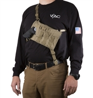 VTAC Big Rig CHest Holster for Revolvers