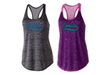 Comets Ladies Space Dye Tank