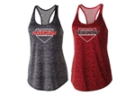 Hurricanes Ladies Space Dye Tank