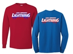 Lightning Long Sleeve Mens tee