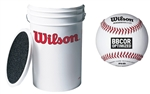 Wilson A1025B Baseball and Bucket Combo